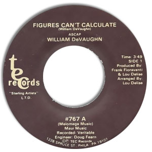 Figures Can't Calculate/ Hold On To Love