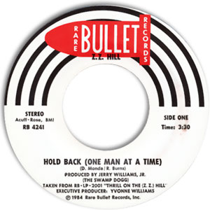 Hold Back (One Man At A Time)/ Put A Little Love In Your Heart